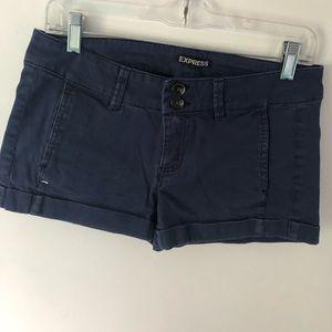 Navy Express Shorts (Size 4)
